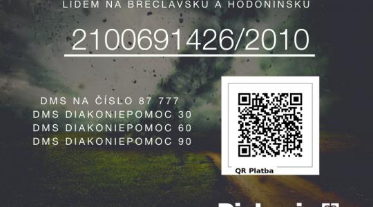 Okamžitá pomoc na jihu Moravy